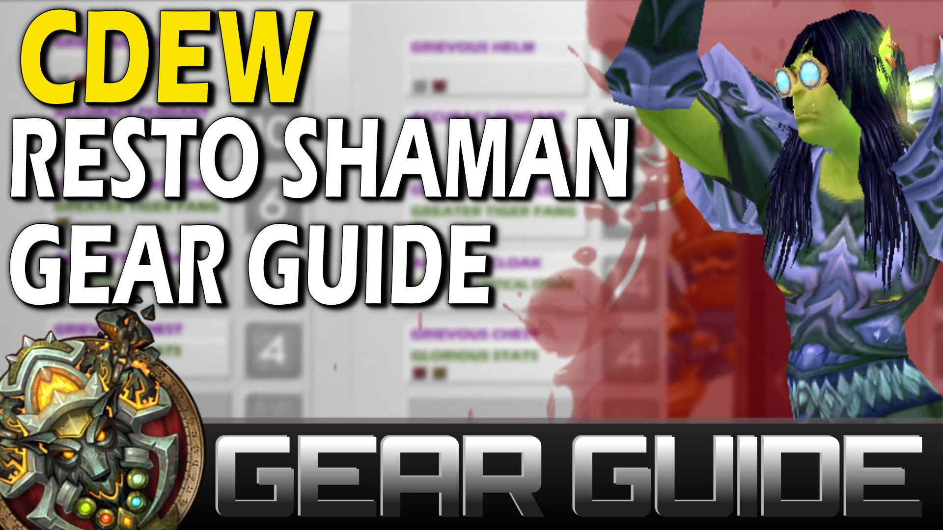 Cdew restoration shaman gearing guide skill capped by cdew publicscrutiny Choice Image