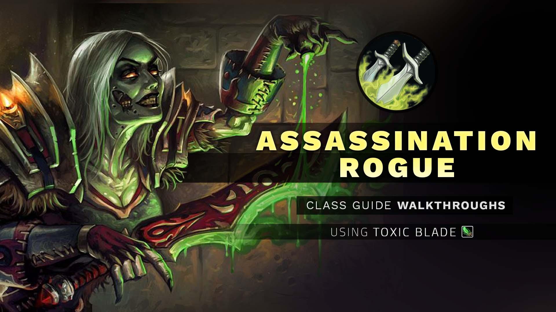 Rogue hunting log rank 1 - Assassination Rogue Cgw Using Toxic Blade Wow Pvp Guide