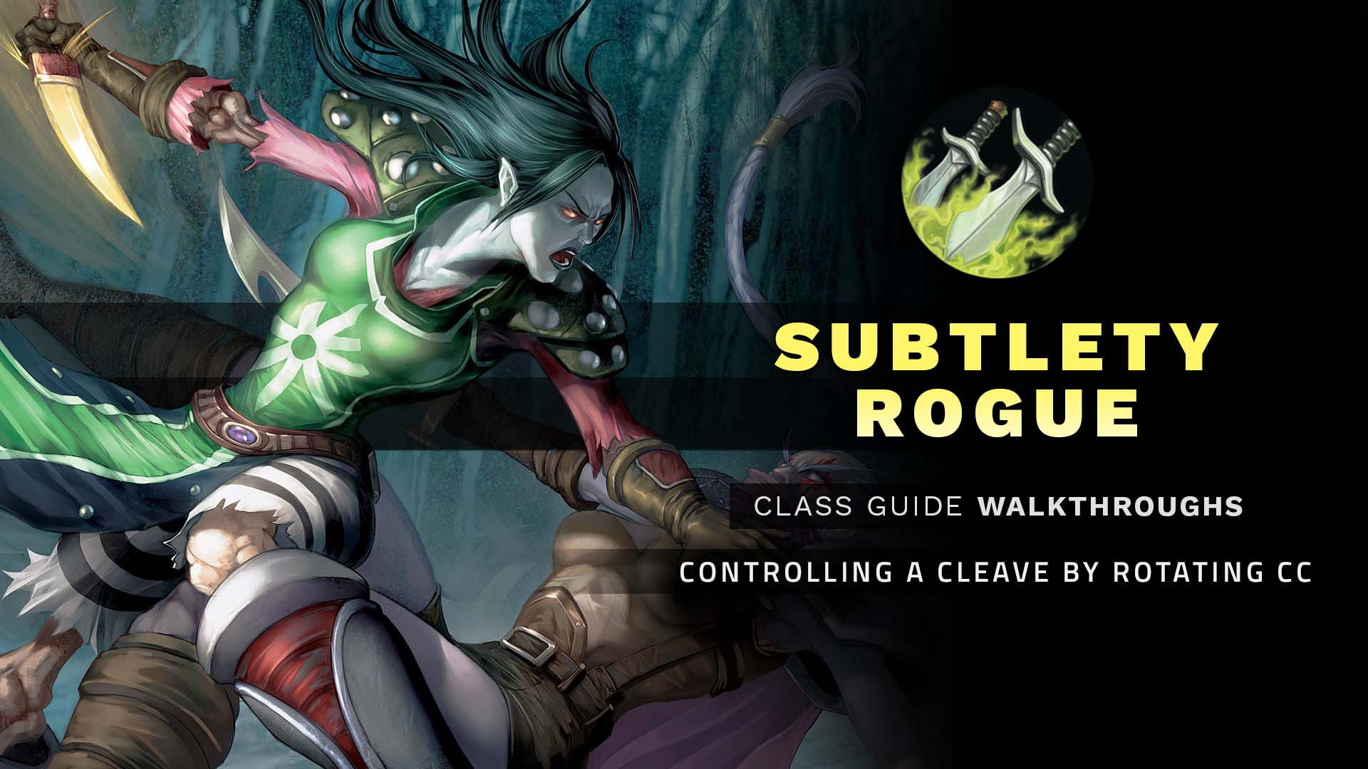 Rogue hunting log rank 1 - Subtlety Rogue Cgw Controlling A Cleave By Rotating Cc Wow Pvp Guide